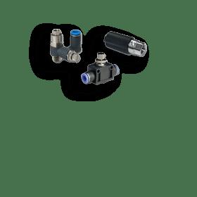 Дроссельные, обратные, быстровыпускные клапаныДроссельные, обратные, быстровыпускные клапаны