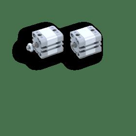 Компактный цилиндр серии NZN