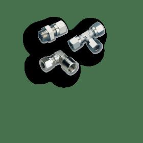Фитинги с врезным кольцом серии С10