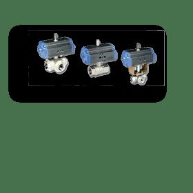 Шаровые краны с автоматическим приводом К21