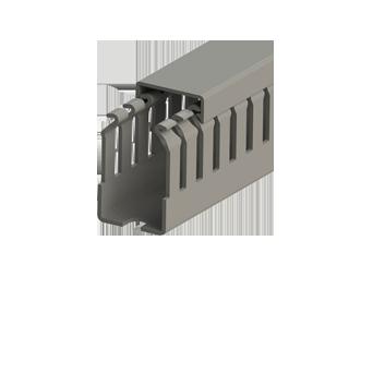 Перфорированный короб с крышкой, 25x40