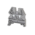 304120RP, Клеммник на DIN-рейку 2,5мм.кв. (серый); AVK2,5(RP) (упак 100 шт)