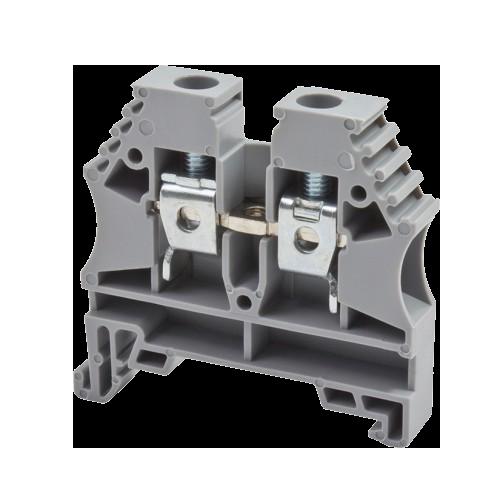 304155RP, Клеммник на DIN-рейку 10мм.кв. (черный); AVK10(RP) (упак 50 шт)