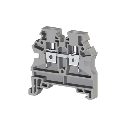 304210RP, Клеммник на DIN-рейку 4мм.кв. (серый); AVK4 RD(RP) (упак 80 шт)