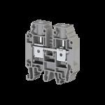304240, Клеммник на DIN-рейку 16мм.кв. (серый); AVK16 RD (упак 50 шт)