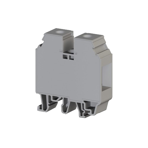 304250, Клеммник на DIN-рейку 35мм.кв. (серый); AVK35 RD (упак 40 шт)