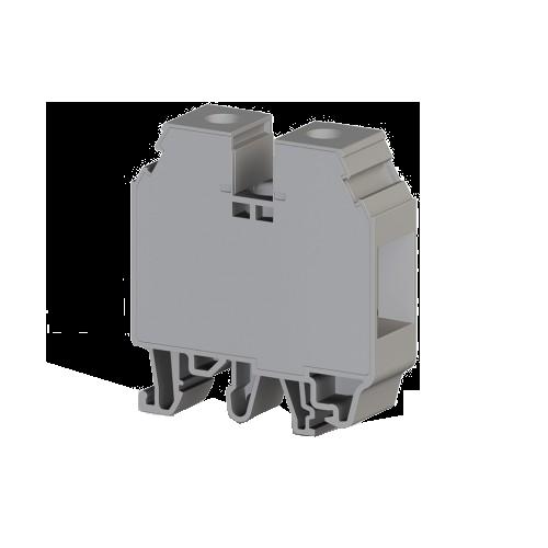 304260, Клеммник на DIN-рейку 35мм.кв., винт под шестигр. (серый); AVK35 IRD (упак 40 шт)