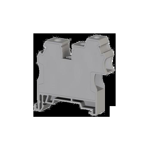 304289, Клеммник 3-х выводной, 2x10мм.кв 1x4 мм.кв., (серый); AVK 10 RD 4 (упак 60 шт)
