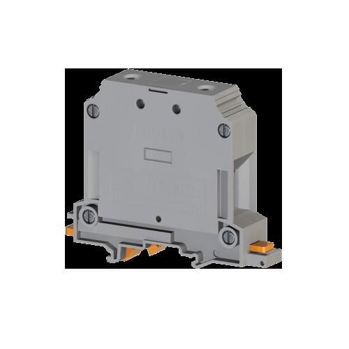304330, Клеммник на DIN-рейку 50мм.кв., (серый); AVK50 (упак 25 шт)