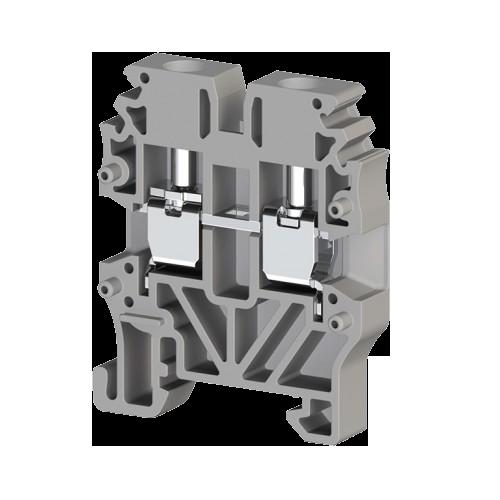 304429, Миниклеммник винтовой 2,5 мм.кв (серый); MVK2,5 (упак 100 шт)
