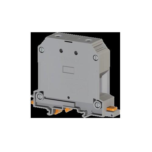 304490, Клеммник на DIN-рейку 70мм.кв. (серый); AVK70 RD (упак 10 шт)