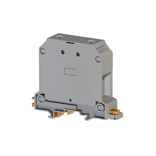 304499, Клеммник на DIN-рейку 70мм.кв. (бежевый); AVK70 RD (упак 10 шт)
