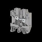304510, Клеммник на DIN-рейку с пружиной 6мм.кв. (серый); AVK-Y6 (упак 90 шт)