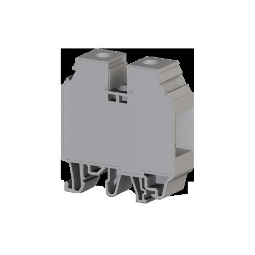 304580, Клеммник на DIN-рейку с крышкой 35мм.кв. (серый); AVK 35 RDS (упак 50 шт)
