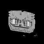 306439, Миниклеммник пружинный промежут., 2,5 мм.кв. (серый); MYPK2,5 (упак 100 шт)