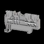 307039, Клеммник пруж.быстрозажимной (Push in), 3-х выводной, 1,5мм.кв., (серый); PYK 1,5ME (упак 70 шт)