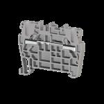 307109, Клеммник пружинный быстрозажимной (Push in), 2,5 мм.кв. (серый); PYK2,5 (упак 100 шт)
