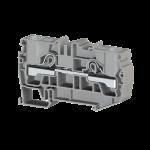 307659, Клеммник пружинный быстрозажимной (Push in), 16 мм.кв. (серый); PYK 16 (упак 30 шт)
