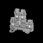 317329, Клеммник 2-х ярусный, 2,5 мм.кв., с индикацией 24 VDC, (серый); PIK2,5 NLD 24VDC (упак 20 шт)