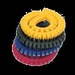 519539, Маркировка кабеля (кольцо) KEB 3 (4-16 мм.кв.), без надписей, (белый), (упаковка 500 шт), klemsan